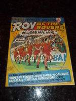 ROY OF THE ROVERS - Year 1986 - Date 06/09/1986 - UK Paper Comic