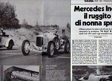 """Z54 Ritaglio Clipping 1987 Mercedes-Indy """"1923"""" 500 Miglia"""