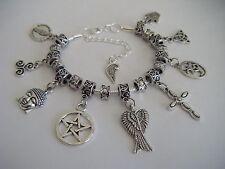 Réplica de protección sobrenatural Mary Winchester pulsera con dijes Amuletos Dean Sam