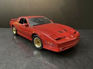 "1987 Pontiac Firebird GTA Red 1/18 Greenlight "" Read"""