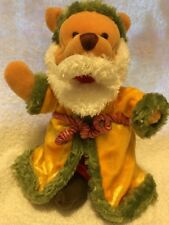 "Winnie The Pooh Plush Bean Bag 8"", Christmas Outfit, Disney Store"