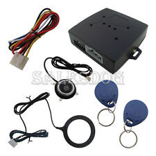 Smartkey Rfid Car Alarm System With Push Button Start & Touch Keyless Go System
