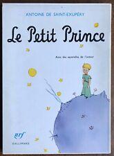 Le Petit Prince Slipcase Antoine De Saint-Exupery 1997 Deluxe Gallimard Slipcase