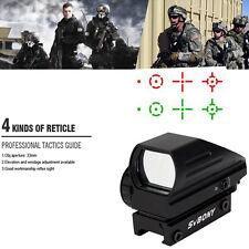 SVBONY Tactical Red Green Dot Reflex Optical Sight Scope 4 Reticle 20mm Rail US