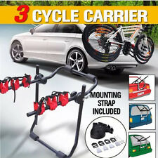 Bullet Car Bike Rack Carrier 3 Rear Mount Bicycle Steel Foldable Strap-on New