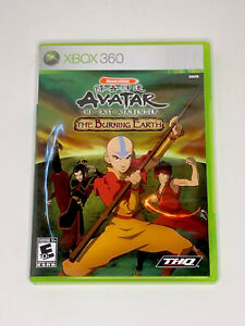 Avatar: The Last Airbender - The Burning Earth (Xbox 360, 2007) Complete