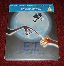 E. T. *Blu - Ray Steelbook* / Brand New / U. K. / Factory Sealed / READ Descr!!