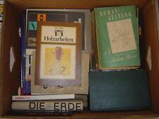 Große Kiste Bücher, Bananenkiste, für Leseratten ca. 35 Stück, 29