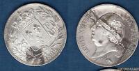 Louis XVIII 1815 - 1824 , 5 Francs Buste nu 1822 A Paris (3) TB