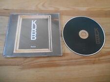CD Pop Kubb - Remain (1 Song) Promo MERCURY REC sc