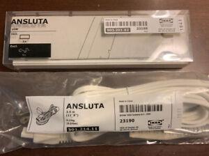 New IKEA Ansluta Transformer 903.201.82 with power cord 301.214.11