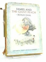 James and the Giant Peach by Dahl, Roald (Hardcover)