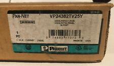Panduit Vp24382Tv25Y 24-Port Voice Patch Panel with 24 Rj45-Port Wired to One R