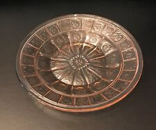Pretty Polly Party Dishes in Doric Pink Depression Glass