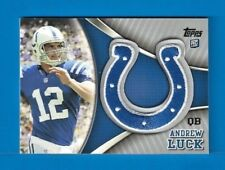 ANDREW LUCK ROOKIE 2012 Topps Factory Set Patch ROOKIE CARD #TLP-AP COLTS