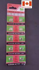 10pcs AG4 626A 377A CX66W Alkaline Battery 1.55 V