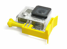 Scuba Mount F. GoPro Hero 1-4 Session buceo snorkel diving Mask Goggle Yellow