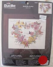 """Bucilla """"Butterfly Garden"""" Counted Cross Stitch Kit 43363 NEW / Sealed"""