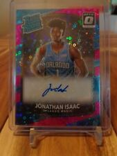 2017-18 DONRUSS OPTIC ROOKIE RATED DISCO JONATHAN ISAAC AUTO PURPLE /20 RETAIL