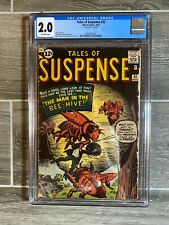Tales of Suspense 32 CGC 2.0 Off-White pages. 1962