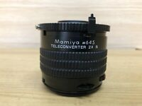 *Mint* Mamiya 645 TELECONVERTER 2X N Lens for M645 1000S Super PRO TL Japan