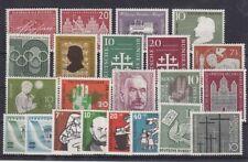 Bund Jahrgang 1956 - Auswahl aus Michel Nr. 227 - 248 , ** , postfrisch
