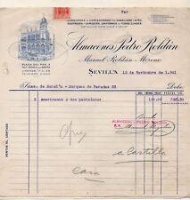 Factura de Almacenes Pedro Roldan Sevilla del año 1941 (DS-515)