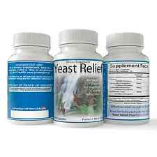 Yeast Relief, Natural Yeast Remedy, Overgrowth And Infection Aid 100ct