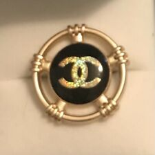 More details for vintage chanel buttons 25mm…5 buttons