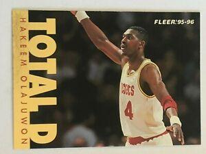Card Hakeem Olajuwon FLEER '95-96 TOTAL D #203