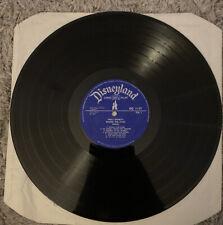 Disneyland Records Winnie The Pooh Vinyl LP Record Vintage 1974 No Sleeve