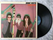 Johnny Winter Raisin' Cain LP 1980 Blue Sky JZ 36343 Original US Press OOP!