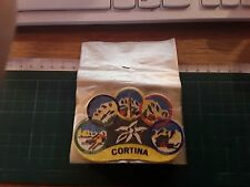 Toppa  PATCH scudetto in materiale plastico d epoca cortina