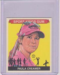 AWESOME RARE 2012 SPORT KINGS PAULA CREAMER MINI CARD #236 ~ LPGA GOLF GREAT