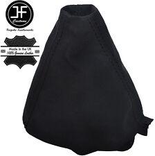 BLACK STITCH MANUAL SUEDE GEAR LEVER GAITER FITS AUDI A4 B6 2001-2004 QUATTRO