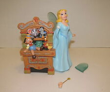 Disney's Pinocchio Desk Set Pencil & Pen Holder BLUE FAIRY