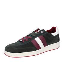 scarpe uomo D' ACQUASPARTA 41 EU sneakers verde camoscio AB870-D