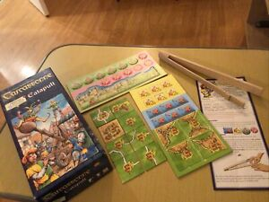 Carcassonne Expansion 7: The Catapult Expansion New Set Boxed No Reserve