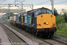 British Rail / DRS 37603 & 37607 (6C53) Rail Photo
