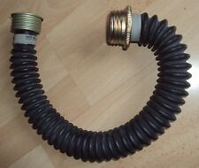 NEW 40MM RUBBER GAS MASK  EXCELLENT TUBE 50-54CM LENGTH 40 MM PIPE