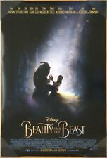 BEAUTY AND THE BEAST MOVIE POSTER 2 Sided ORIGINAL INTL FINAL 27x40 EMMA WATSON