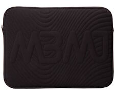 "Marc Jacobs 13"" Laptop Sleeve Logo Quilted Black NEW"