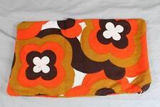 Vintage - Original 1970er Jahre Kissenbezug - Prilblumen Muster    /S246