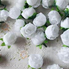 Lot 10PC Artificial Fake Silk Flowers Head Floral Garland DIY Wedding Home Decor