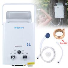 6L LPG Propane Tankless Instant Hot Water Heater Boiler Kitchen Bathroom Shower