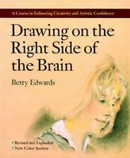 Drawing on the Right Side of the Brain by Betty Edwards  Paperback, Revised d3