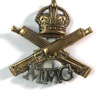 Machine Gun Corps MGC WW1 Motor Machine Gun Corps MMG Cap Badge Genuine