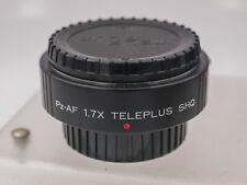 Rare - Kenko Teleplus 1.7x Pz-AF SHQ Tele-Converter Pentax K DSLR Cameras/Lenses