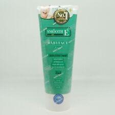 Smooth E babyface facial foam face wash cleanser toner moisturizer acne care 8oz