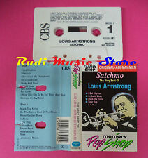 MC The very best of LOUIS ARMSTRONG Satchmo 1990 holland no cd lp dvd vhs